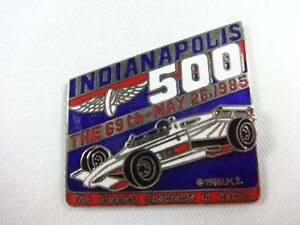 1985 Indianapolis 500 Car Mount Collector Lapel Pin I WAS THERE Danny Sullivan