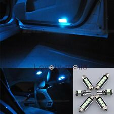 Error Free Ice Blue Led Interior Bulb Light Package Kit For BMW 5 Series M5 Y1
