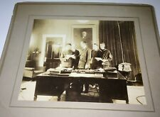 Rare Antique American World War I Soldier & Sailor! William McAdoo Cabinet Photo