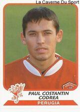 PAUL CONSTANTIN CODREA ROMANIA AC.PERUGIA STICKER CALCIATORI 2004 PANINI