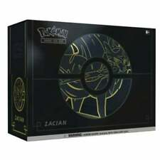 More details for pokemon tcg sword & shield elite trainer box plus   zacian   new and sealed