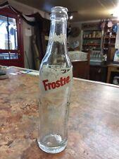 Vintage Frostie Root beer Bottle 'Frostie Man Frostie' 10 Oz
