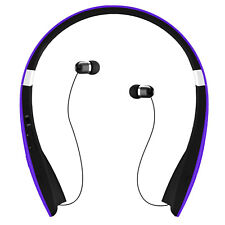 KOCASO Foldable Wireless Sports Stereo Streamlined Headphone/headset Purple