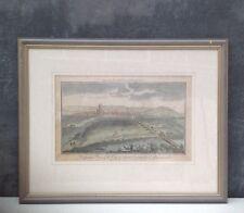Antique print engraving of Gloucester For The Modern Universal British Traveller