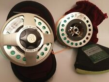 House of Hardy Gem Mk1 Fly reel and spare spool with lines