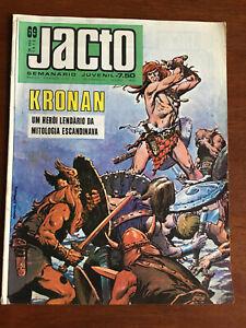JACTO # 69 KRONAN VG+ PORTUGUESE COMIC 1973