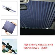 Car Retractable Rear Window Sun Shade Folding Auto Windshield Cover Space Saving