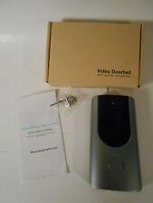 Wireless WiFi Video Doorbell Smart Phone Door Ring Security Camera TWO-WAY AUDIO