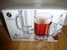 Libbey 4 Piece Heidelberg Beer Mugs - NEW