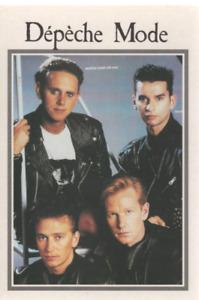 Depeche Mode Carte Postale Postcard 225
