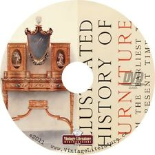 Illustrated History of Furniture ~ Antique Furnishing Guide { 1903 Book } on DVD