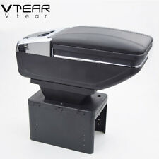 Vtear universal car armrest box cup holder PU Leather auto car-styling parts