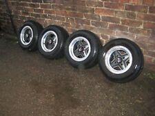 "Classic MINI  Revolution alloy wheels+ tyres, 10"" x 5"" , with centre caps"