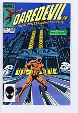 Daredevil #208 Marvel 1984