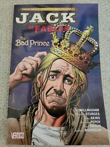 Jack of Fables Vol. 3-The Bad Prince by Willingham Vertigo Coll #12 - 16 $15 New