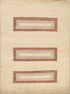 Geometric Modern Gabbeh Oriental Area Rug Living Room Handmade Wool Carpet 6x8