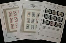 USA 1998 Centenary of the Trans-Mississippi Exposition in Omaha Complete  Stamps