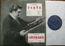 FEY-3001+3002: EUGÈNE YSAYE - ECHOS DU SOUVENIR: SIGNED, MEGARARE !  2X LP