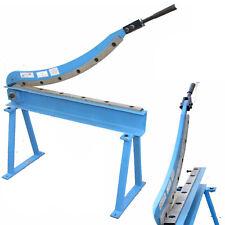 "Manual Guillotine Shear 32"" x 16 Gauge Sheet Metal Plate Cutting Cutter w/ Stand"