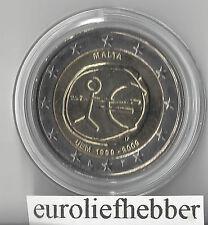 Malta   2 Euro 10 Jaar 2009   E.M.U.   in Muntcapsule