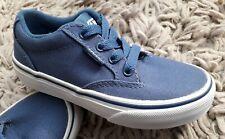 VANS WINSTON BOYS CANVAS SKATE SHOES SIZE UK 11.5 JUNIOR NEW BLUE PUMPS SNEAKERS