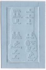 Karte Matern Druckmatern Fürstenberg Porzellan Porzellanmarken Abdruck gucken