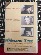 THE HANGING TREE GARY COOPER KARL MALDEN WB1987 RELEASE RARE PAL VHS VIDEO