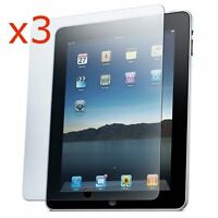 3 x CRYSTAL CLEAR SCREEN PROTECTOR GUARD FILM COVER FOR APPLE IPAD 4 3 & 2