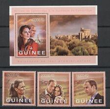 Kate, William, Royal Wedding - Guinea - ** MNH 2012