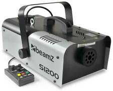 BeamZ S1200 - MKII Machine à fumée, 1200 Watts, réservoir 900 ml, avec télécomma