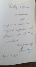 My Life In Court by Louis Nizer SIGNED 1961 HCDJ