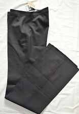 Burberry -London Designer Tailored Bootcut/Flared Work Trousers: UK 10 & 12