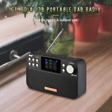 GTMEDIA Portable DAB+/FM Radio Receiver Digital BT Speaker USB Rechargeable V9A8
