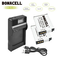 EN-EL12 Battery or LCD Charger for Nikon CoolPix S70 S6000 S9100 COOLPIX A900 US