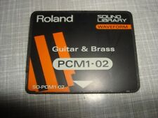 Roland Guitar Brass PCM1-02 für JD 990 800 JV 1080 880 1000 etc