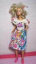 1990s Jazz Cousin Teen Jazzie Doll Clothes-Skirt Top Trainer Hi Top Pink Shoes