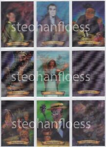 Harry Potter Chocolate Frog Wizards 3D Lenticular Card You Pick Finish Your Set