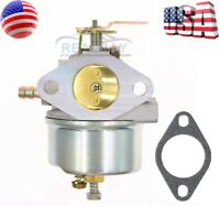 Adjustable Carburetor for Tecumseh 8hp 9hp 10hp HMSK80 HMSK90 Snowblower 640349
