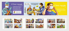France Frankreich 2020 Delivery 3-4 weeks Corona  Booklet