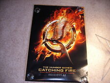 The Hunger Games: Catching Fire DS Movie Poster 27x40 Authentic