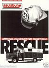 Fire Equipment Brochure - Saulsbury - Commercial Chassis Rescue Vehicles (DB134)