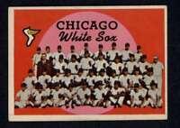 1959 Topps #94 White Sox Checklist EX/EX+ White Sox A3494