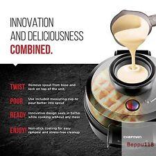 Waring Pro Professional Waffle Maker Patented No Overflow Volcano Waffle Iron