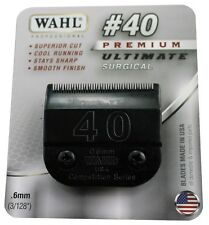 Wahl Ultimate Competition Series #40 Clipper Blade-A5, Fits Oster, Wahl & Andis