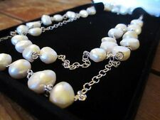 Freshwater Pearl Necklace valued at over $6,000 with Documentation of...
