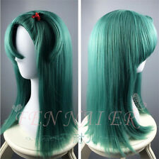 Hot full Straight Dragon Ball Z Bulma Modeling style green cosplay lady's wigs