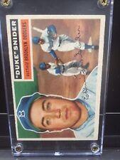 1956 Topps Duke Snider Brooklyn Dodgers #150 Baseball Card EXMT