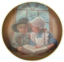 Little Tutor Days Gone By Sandra Kuck Childhood Plate CP620
