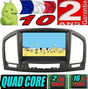 ANDROID 10 OPEL INSIGNIA 2008-2012 VOITURE AUTO RADIO DVD GPS USB CAR WIFI DAB+