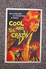 Cool & the Crazy Lobby Card Movie Poster